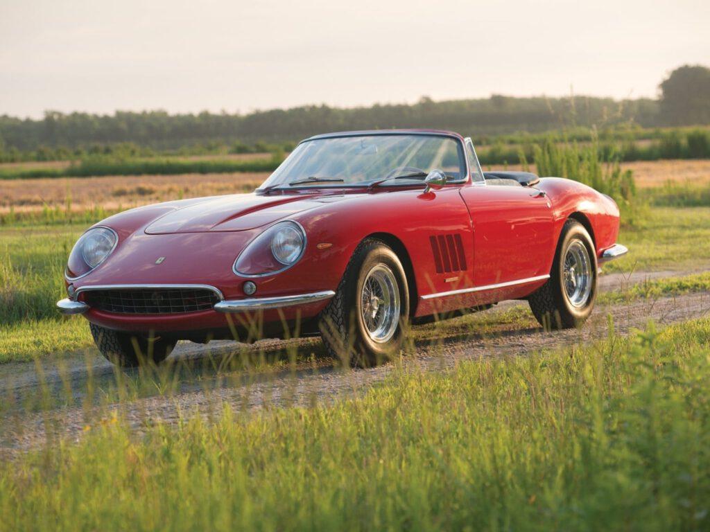 1967 Ferrari 275 GTB/4*S N.A.R.T. Spider by Scaglietti – $27.5 million
