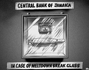 Prawdopodobna forma zarządzania kryzysowego w Banku Jamajki