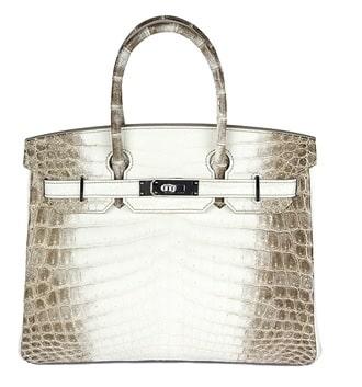 Hermes Himalaya Birkin Bag
