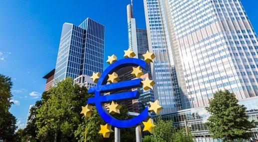 Główna siedziba Europejskiego Banku Centralnego (EBC) we Frankfurcie nad Menem