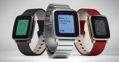 Największa zbiórka crowfundingowa - zegarki peeble