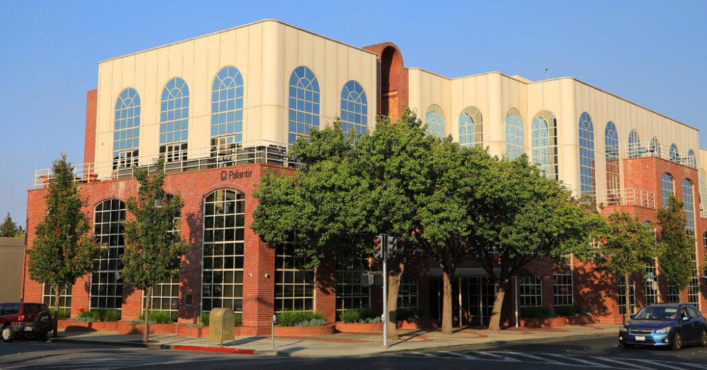 palantir technologies siedziba