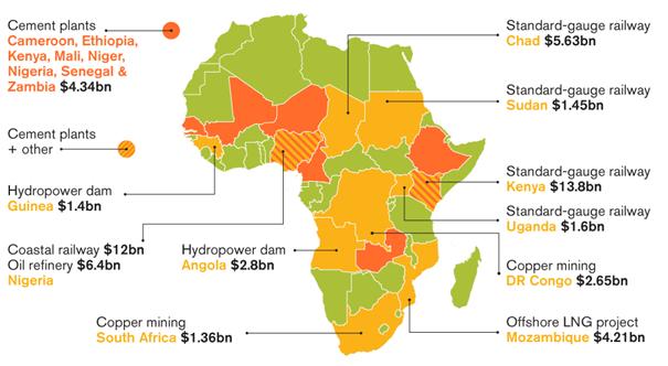 Duże chińskie inwestycje infrastrukturalne w Afryce
